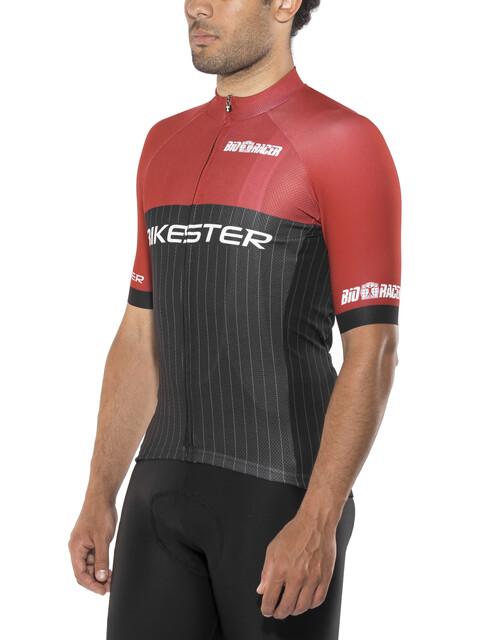 Bikester Pro Race Miehet Pyöräilypaita lyhythihainen , punainen/musta